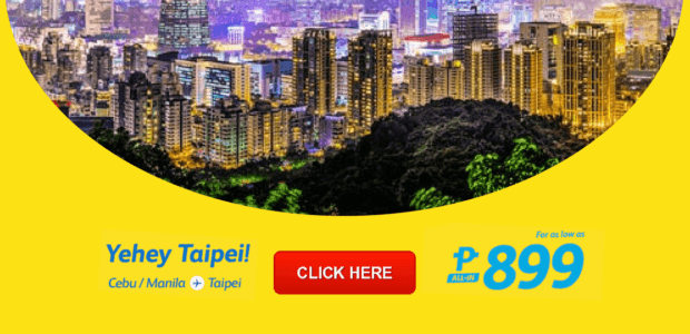 cebu pacific promo manila to taiwan 2017