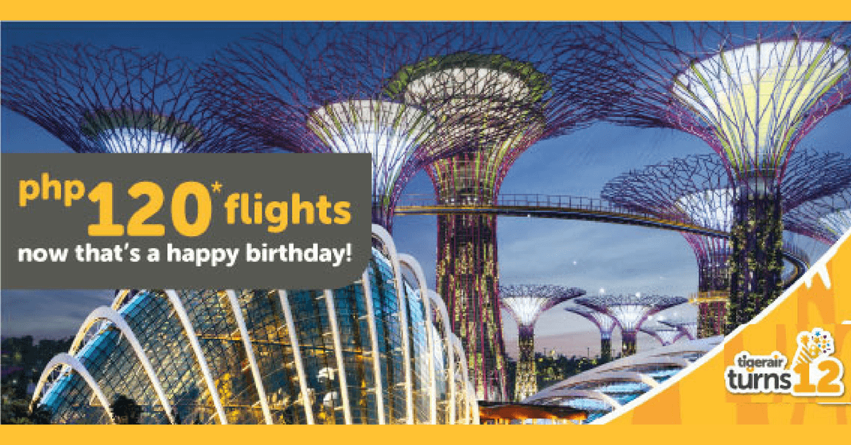 TigerAir Singapore Promo