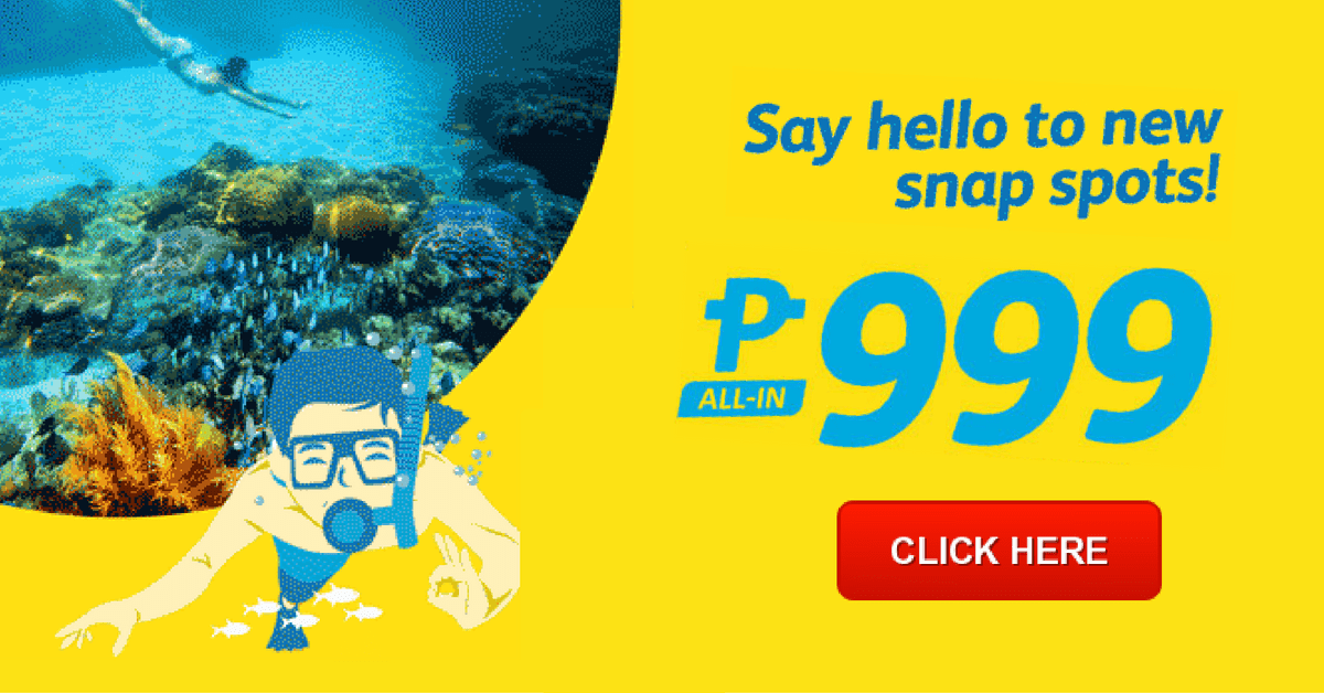 Uber Discount Code >> Cebu Pacific Promo: P999 January to March 2017