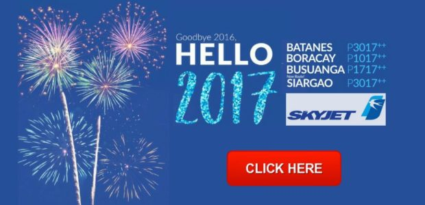 skyjet promo 2017- year end sale