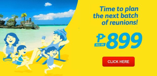 cebu pacific promo 899 february, march, april, 2017