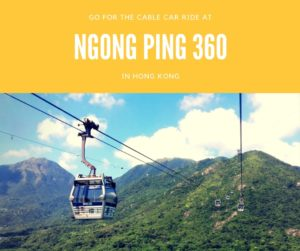 Ngong Ping 360 Top 10 Things To Do in Hong Kong