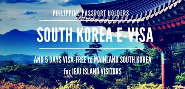 KOREA E-Visa Free for Filipinos