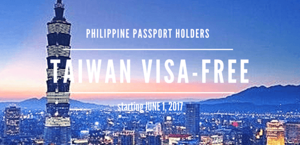 Taiwan Visa Free for Filipino