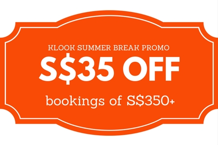 Klook Summer Promo Code singapore 2017