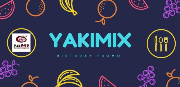Yakimix Birthday Promo