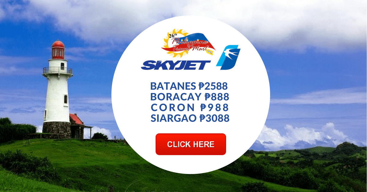 Skyjet Promo at the Philippine Travel Mart 2017